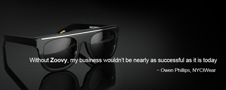 Without Zoovy, my busines wouldnt be nearly as successful as it is today - Owen Phillips of NYCIWear